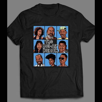 ed1fc4394713 FRESH PRINCE OF BEL-AIR  BRADY BUNCH STYLE PARODY T-SHIRT