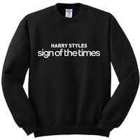 "Harry Styles ""Harry Styles Sign of the Times"" Crewneck Sweatshirt"