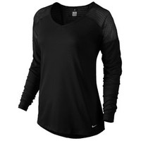 Nike Dri-FIT Relay Long Sleeve Top - Women's at Lady Foot Locker