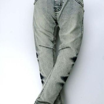 new Denim Slacks embroidered Trousers jeans for kids size 567