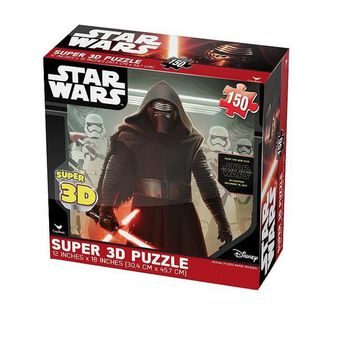 LMFPL3 Star Wars: Episode VII The Force Awakens 150-pc. Super 3D Puzzle by Cardinal