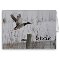 Birthday Uncle Greeting Cards