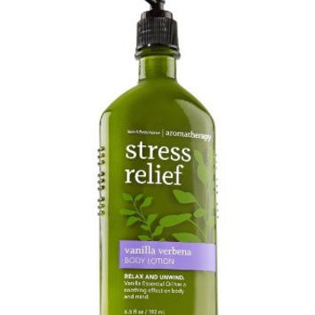Bath & Body Works Aromatherapy Stress Relief Vanilla Verbena Body Lotion