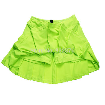 sports women shorts skirts summer 2016 pleated mini skirts european and american style candy color tennis skirts xxl