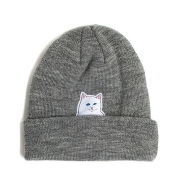 Lord Nermal Beanie (Grey)