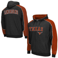 Texas Longhorns Thriller Full Zip Hoodie - Black