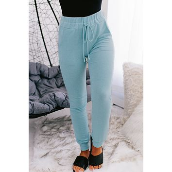 Nights With You Joggers (Blue)