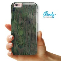 """Watercolor Camo Woodgrain iPhone 6 Plus or 6s Plus (5.5"""" iPhone) Ultra Gloss Candy Shell Case"""