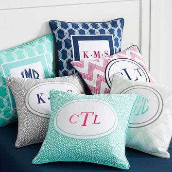 MIX N MATCH MONOGRAM PILLOW COVER