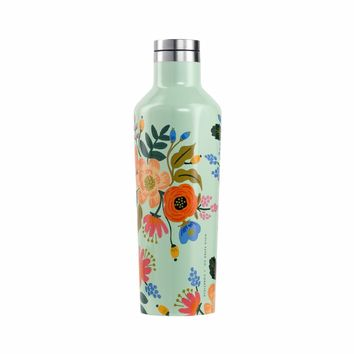 Rifle Paper Co + Corkcicle Everyday 16 oz Canteen - Lively Floral