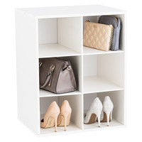 6-Section Shoe & Handbag Organizer