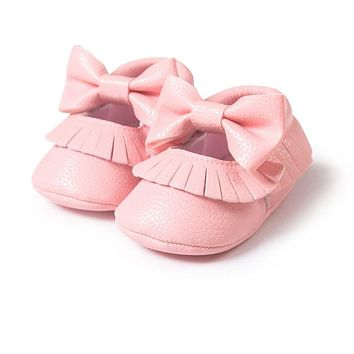 Soft Soled Baby Moccasins shoes