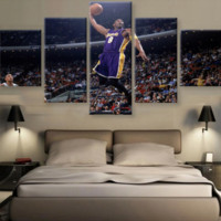 Kobe Bryant Dunking Canvas Set