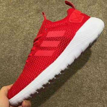 Adidas HOOP TEAM MID W Breathable Mesh Casual Shoes F-CSXY red