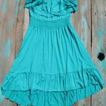Southern High Low Dress | Elusive Cowgirl