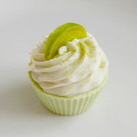 Key Lime Cupcake Soap by BakedSoapCo on Etsy