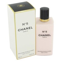 CHANEL No. 5 by Chanel Body Lotion 6.8 oz