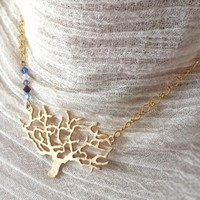Mother's Family Tree Necklace