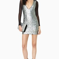 Nasty Gal Future Calls Sequin Dress