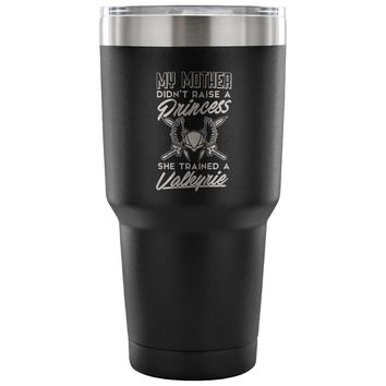 Womens Viking Valkyrie Travel Mug My Mother Didn't 30 oz Stainless Steel Tumbler