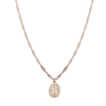 Enos Saint Necklace - Gold