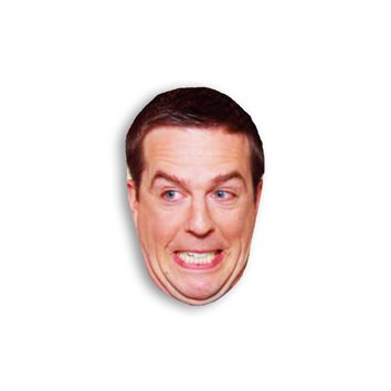Andy Bernard Magnet - The Office TV Show Magnet - Michael Scott Jim Halpert Dwight Schrute Andy Bernard Dunder Mifflin Magnet