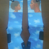 drake nothing was the same custom nike elite socks