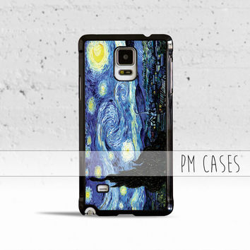 Van Gogh Starry Night Case Cover for Samsung Galaxy S3 S4 S5 S6 S7 Edge Plus Active Mini Note 3 4 5 7