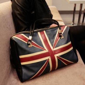 England Style Vintage Tote Bag [6582162759]