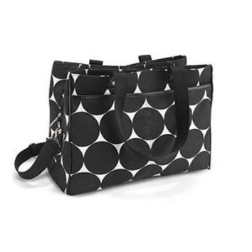 Suite Success Tote By Thirty One - Big Dot -Hostess Exclusive FREE SHIPPING