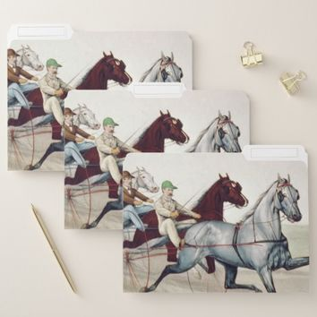 TOP Harness Racing File Folder