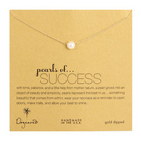 "Dogeared Pearls Of Success Necklace 16"" Gold - Zappos.com Free Shipping BOTH Ways"