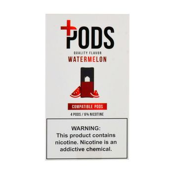 Plus Pods Watermelon Pack of 4