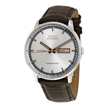 Mido Commander II Automatic Silver Dial Mens Watch M016.430.16.031.80