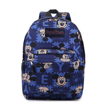 On Sale Comfort College Back To School Hot Deal Stylish Casual Disney Couple Pc Cartoons Backpack [4962070852]