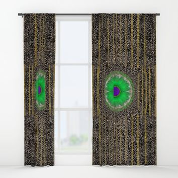 in the stars and pearls is a flower Window Curtains by Pepita Selles