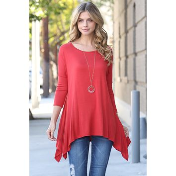 3/4 Sleeve Relaxed Top