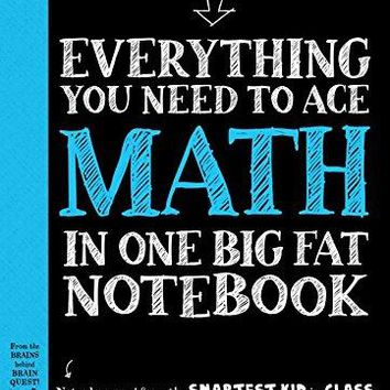 Everything You Need to Ace Math in One Big Fat Notebook Big Fat Notebooks STG