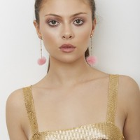 Wild Thoughts Earrings- Pink