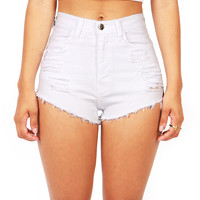 Slicker High Waist Shorts | Trendy Clothes at Pink Ice