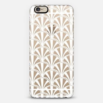 Transparent Scallop iPhone 6 case by Vicky Webb | Casetify