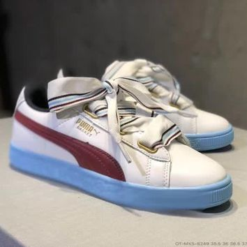puma women all match casual fashion multicolor bow plate shoes sneakers