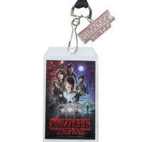 Stranger Things Poster Art Lanyard