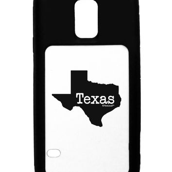 Texas - United States Shape Black Dauphin iPhone 6 Plus Cover by TooLoud