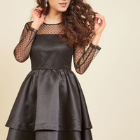 Statement Innovator A-Line Dress | Mod Retro Vintage Dresses | ModCloth.com