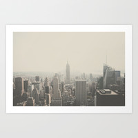 NEW YORK CITY Art Print by Shilpa