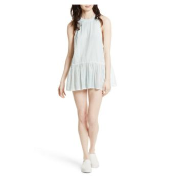 Free People Women's Cutaway Shoulder Tunic Dress