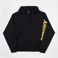 Alltimers Sears Sleeve Hooded Sweatshirt - Black