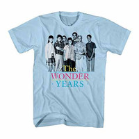 The Wonder Years Simple Cast Blue T-Shirt