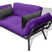 Purple & Polka Dots Convertible Studio
